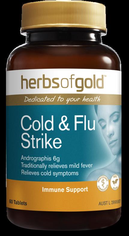 Herbs of Gold Cold & Flu Strike