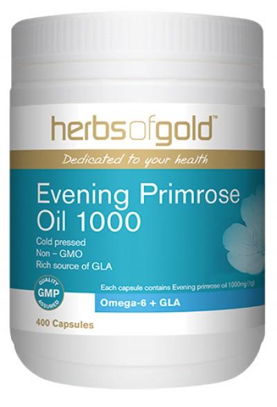 Herbs of Gold Evening Primrose Oil 1000
