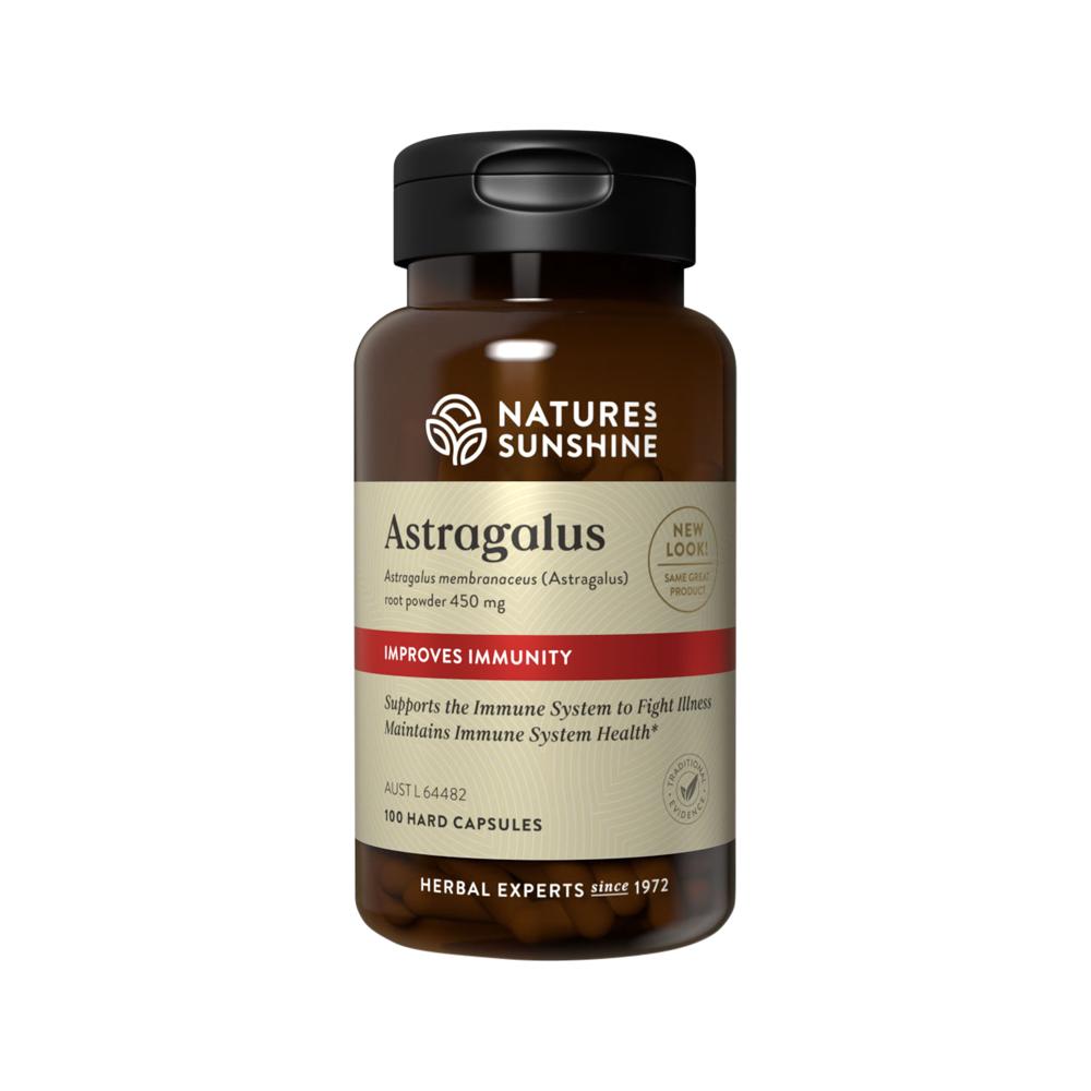 Nature's Sunshine Astragalus 450mg 100c