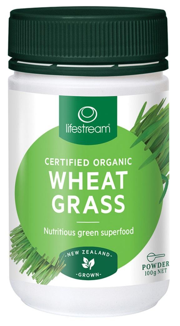 Lifestream Wheat Grass Powder - Certified Organic