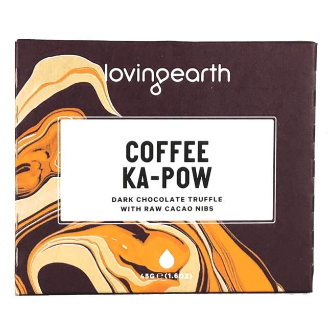 Loving Earth Coffee Ka-Pow Chocolate Bar