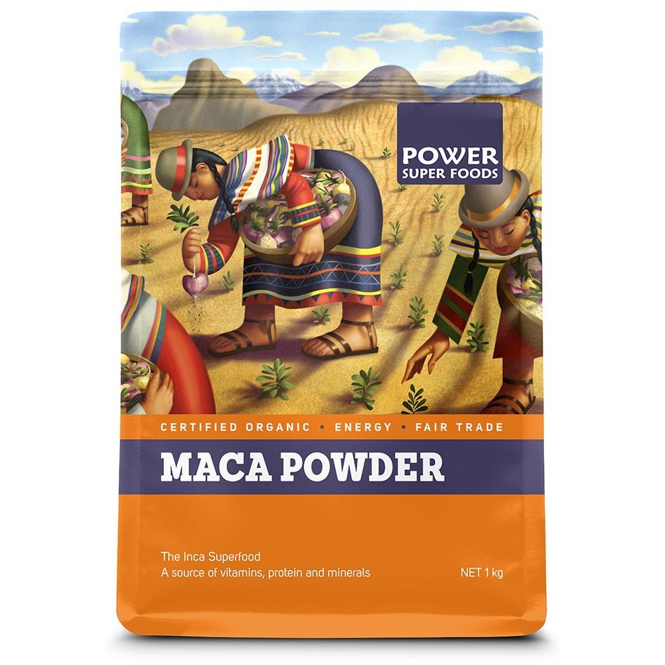 Power Super Foods Organic Maca Powder