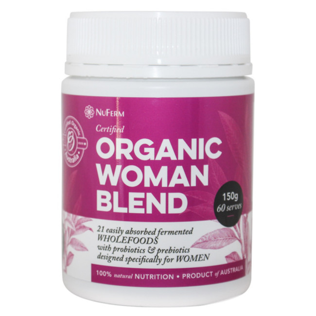 Nuferm Organic Woman - Probiotic Wholefood