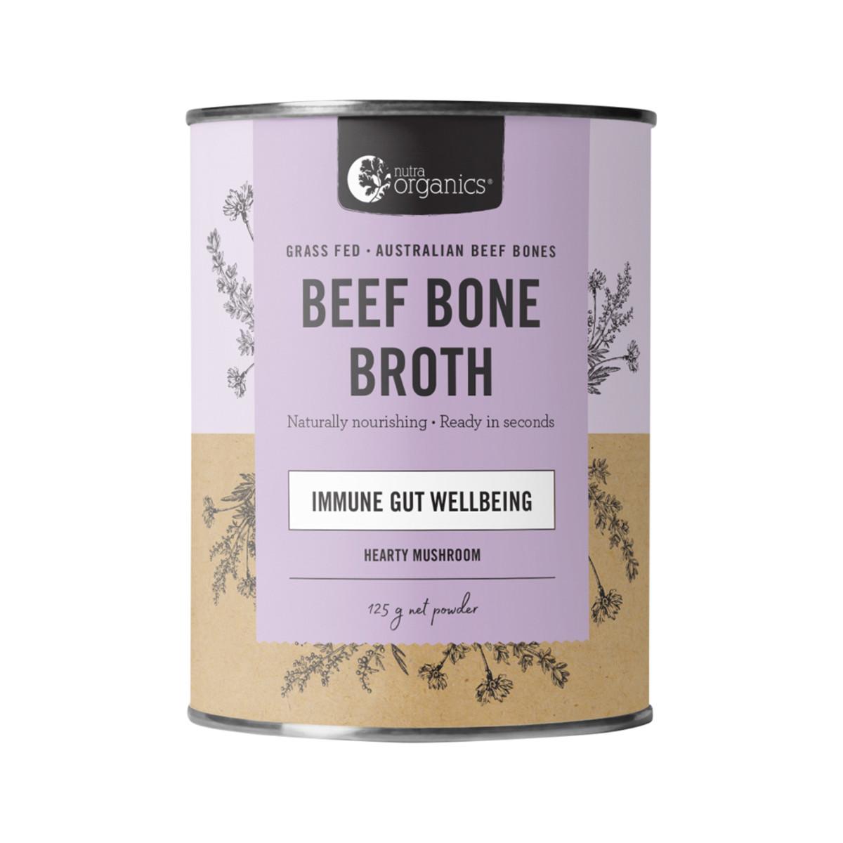 Nutra Organics Beef Bone Broth - Adaptogenic Mushroom