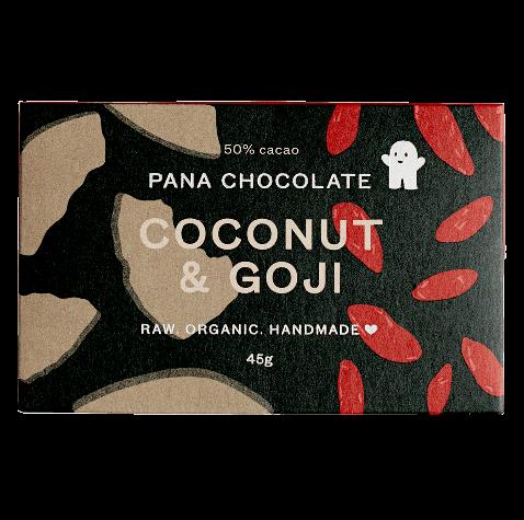 Pana Chocolate Goji + Coconut