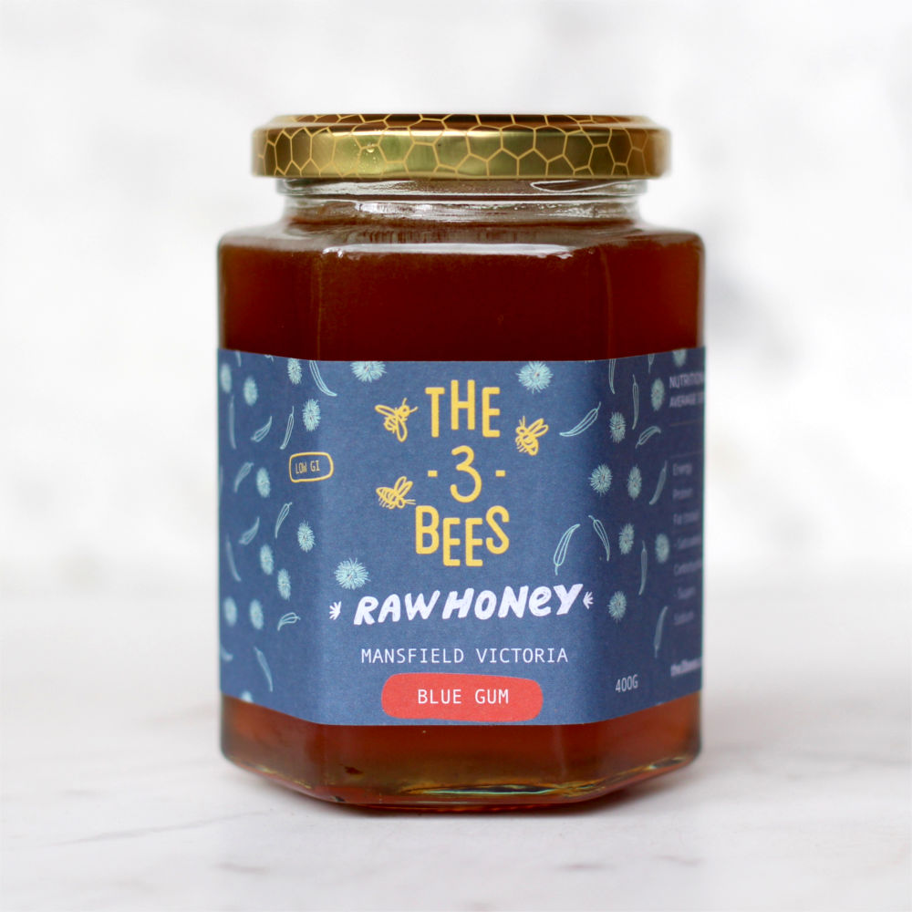 The 3 Bees Blue Gum Honey