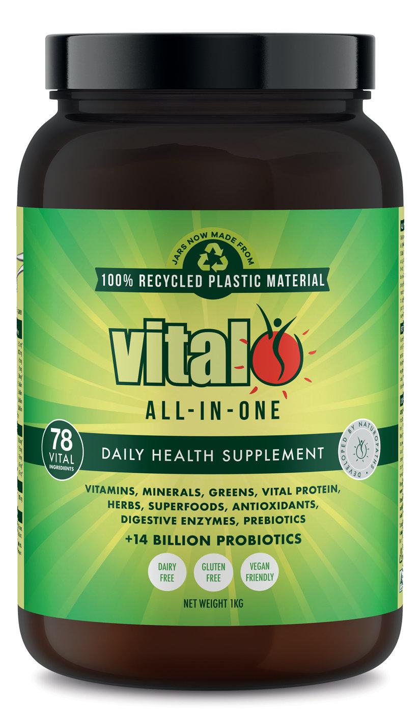 Vital Greens all-in-one 1kg tub