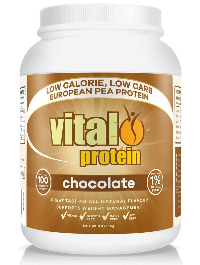 Vital Protein 1kg Chocolate :: Pea Protein